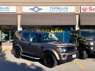 Used 2016 Land Rover LR4 4X4 Navigation, Blind Spot Manitoring for sale in Vaughan, ON