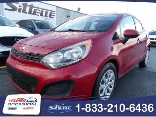 Used 2014 Kia Rio LX / MANUELLE for sale in St-Georges, QC
