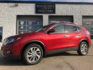 Used 2015 Nissan Rogue SL AWD LOADED Panoroof Nav Heated Leather for sale in Guelph, ON