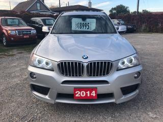 Used 2014 BMW X3 xDrive35i for sale in Hamilton, ON