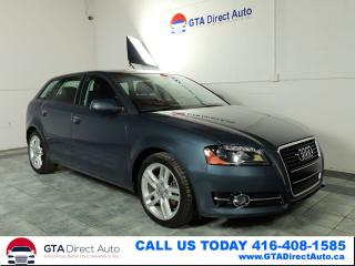 Used 2012 Audi A3 TDI Progressiv Panoroof Leather Heated Certified for sale in Toronto, ON