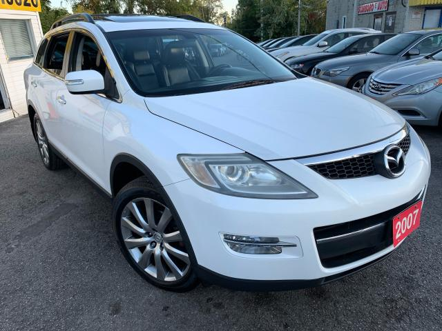 2007 Mazda CX-9 GT/ AWD/ 7 SEATER/ LEATHER/ SUNROOF/ ALLOYS & MORE