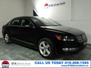 Used 2014 Volkswagen Passat Comfortline TDI Sunroof Leather Heated for sale in Toronto, ON