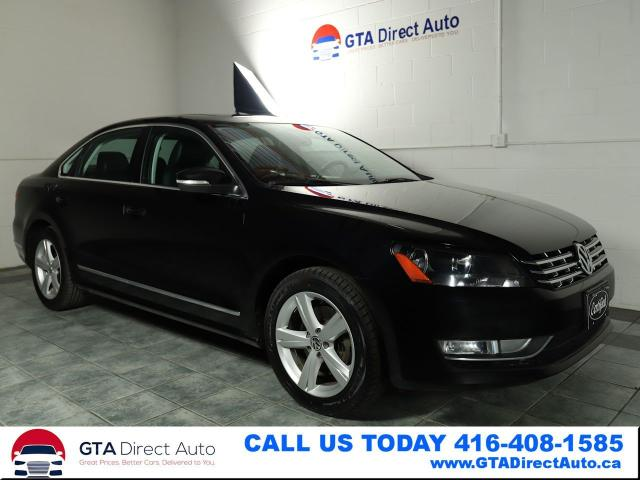 2014 Volkswagen Passat Comfortline TDI Sunroof Leather Heated