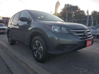Used 2014 Honda CR-V LX-EXTRA CLEAN-AWD-BK UP CAM-ECO-BLUETOOTH-ALLOYS for sale in Scarborough, ON