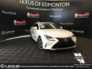 Used 2017 Lexus RC 300 F-Sport Series 1 for sale in Edmonton, AB