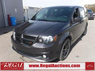Used 2018 Dodge Grand Caravan GT Wagon 7PASS 3.6L for sale in Calgary, AB