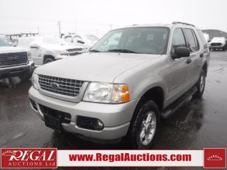 Used 2004 Ford Explorer XLT 4D Utility 7PASS 4WD 4.6L for sale in Calgary, AB