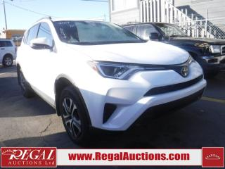 Used 2017 Toyota RAV4 LE 4D Utility AWD for sale in Calgary, AB
