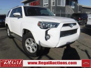 Used 2016 Toyota 4Runner 4D Utility 4WD for sale in Calgary, AB