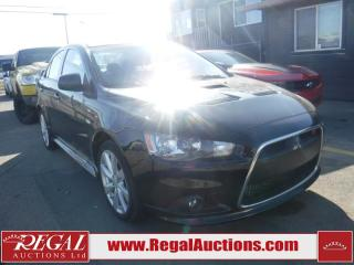 Used 2012 Mitsubishi Lancer Ralliart 4D Sedan AWD for sale in Calgary, AB
