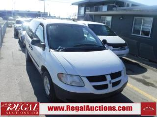 Used 2003 Dodge Caravan 2D Wagon FWD for sale in Calgary, AB