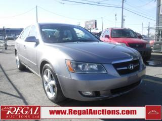 Used 2008 Hyundai Sonata GL 4D Sedan for sale in Calgary, AB