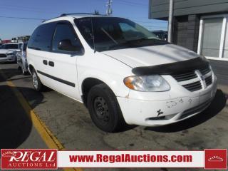 Used 2005 Dodge Caravan 4D Wagon for sale in Calgary, AB