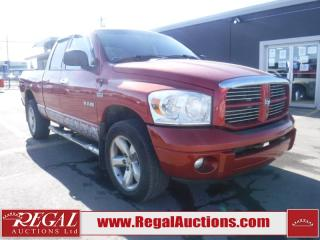 Used 2008 Dodge Ram 1500 4D Quad CAB 4WD for sale in Calgary, AB