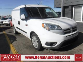 Used 2015 RAM PROMASTER CITY  2D CARGO VAN FWD for sale in Calgary, AB