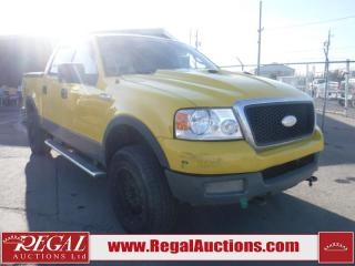 Used 2004 Ford F-150 FX4 4D SUPERCREW 4WD for sale in Calgary, AB