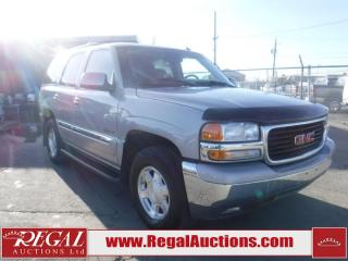 Used 2005 GMC Yukon 4D Utility 4WD for sale in Calgary, AB