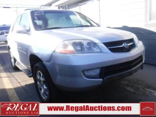 Used 2002 Acura MDX 4D Utility 4WD for sale in Calgary, AB