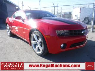 Used 2010 Chevrolet Camaro LT 2D Coupe for sale in Calgary, AB