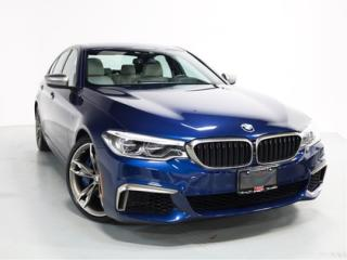 Used 2018 BMW 5 Series M550i xDrive   WARRANTY   NAVI   SUNROOF for sale in Vaughan, ON