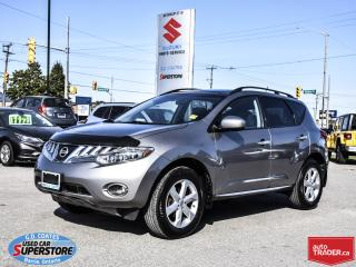 Used 2010 Nissan Murano SL AWD ~Panoramic Roof ~Heated Seats ~Backup Cam for sale in Barrie, ON