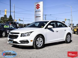 Used 2016 Chevrolet Cruze LT ~Backup Camera for sale in Barrie, ON