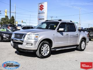 Used 2007 Ford Explorer Sport Trac Limited 4x4 4.6L V8 ~Heated Leather ~Power Sunroof for sale in Barrie, ON