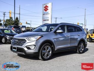 Used 2013 Hyundai Santa Fe Limited AWD ~7 Passenger ~Nav ~Panoramic Roof for sale in Barrie, ON