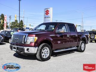 Used 2010 Ford F-150 XTR Super Crew 4x4 ~Power Moonroof ~Trailer Tow for sale in Barrie, ON