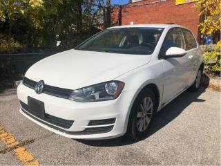 Used 2015 Volkswagen Golf 1.8 TSI Trendline, low mileage for sale in Toronto, ON