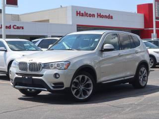 Used 2016 BMW X3 X3 28I|NO ACCIDENTS for sale in Burlington, ON