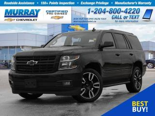 Used 2018 Chevrolet Tahoe Premier *Remote Start, Wi-Fi Hotspot, OnStar* for sale in Winnipeg, MB