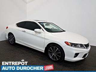 Used 2013 Honda Accord Cpe EX-L NAVIGATION - Toit Ouvrant - A/C - Cuir for sale in Laval, QC