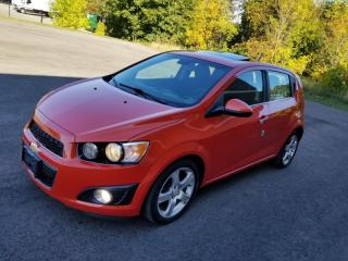 Used 2012 Chevrolet Sonic 5dr Hb Lt for sale in Mississauga, ON