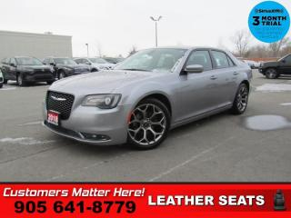 Used 2018 Chrysler 300 S  LEATH P/SEATS CAM HS APPLE-PLAY for sale in St. Catharines, ON