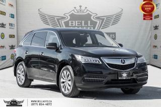 Used 2016 Acura MDX Nav Pkg, AWD, NO ACCIDENT, NAVI, BACK-UP CAM, COLLISION PREV, LANE DEP for sale in Toronto, ON
