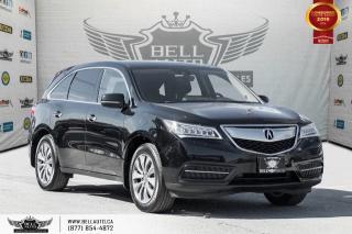 Used 2016 Acura MDX Nav Pkg, AWD, NO ACCIDENT, NAVI, BACK-UP CAM, COLLISION PREV, LANE DEP for sale in Toronto, ON