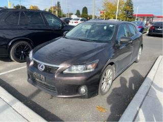 Used 2011 Lexus CT 200h CVT HYBRID LEATHER ROOF for sale in Ottawa, ON