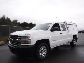 Used 2016 Chevrolet Silverado 1500 Work Truck Double Cab 4WD for sale in Burnaby, BC