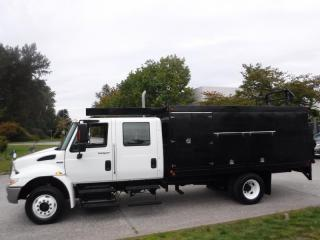 Used 2009 International 4300 LP Service Truck Crew Cab Diesel with Power Tailgate and Air Brakes for sale in Burnaby, BC