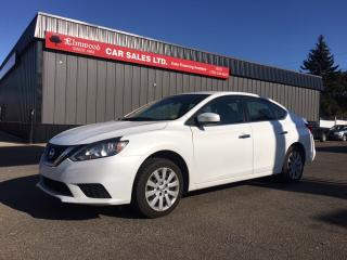 Used 2016 Nissan Sentra S for sale in Edmonton, AB