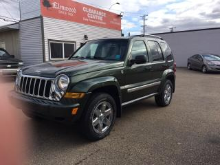 Used 2007 Jeep Liberty Limited Edition for sale in Edmonton, AB