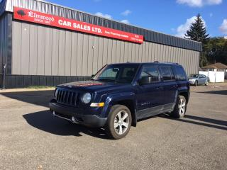 Used 2016 Jeep Patriot sport 4x4 for sale in Edmonton, AB