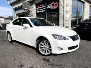 Used 2010 Lexus IS 250 Berline 4 portes, boîte automatique, tra for sale in Longueuil, QC