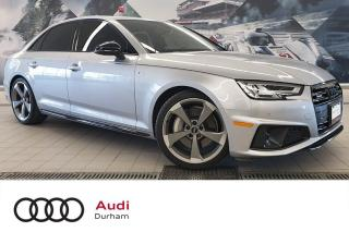 Used 2019 Audi A4 45 Technik + Loaded! | Driver Assist | 360 Cam for sale in Whitby, ON