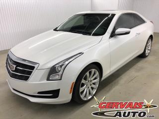 Used 2017 Cadillac ATS AWD MAGS CUIR TOIT CAMÉRA DE RECUL SIÈGES CHAUFFANTS BLUETOOTH for sale in Trois-Rivières, QC