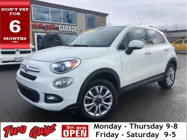 2016 Fiat 500 X Lounge | AWD | Leather | B/Up Cam | Bluetooth |