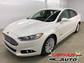 Used 2016 Ford Fusion Energy Plug in Hybrid SE Luxury Cuir Mags for sale in Shawinigan, QC