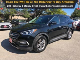 Used 2018 Hyundai Santa Fe Sport Luxury| LEATHER|NAVIGATION|PANO ROOF|AWD for sale in Stoney Creek, ON